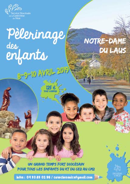 Pèlerinage des enfants: temps fort diocésain du CE2 au CM2